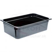 GN nádoba 1/1-150mm, čierný polykarbonát