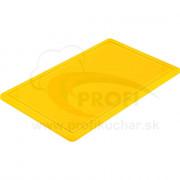 Doska na krájanie STALGAST® GN 1/1 žltá