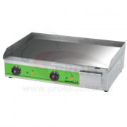 Grilovacia platna GastroMarket hladká 3,3 kW