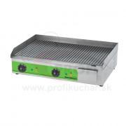 Elektrická grilovacia platňa GastroMarket, ryhovaná