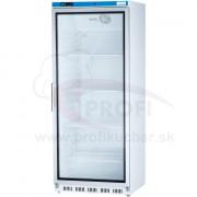 Podpultová chladnička s presklenými dvierkami 600l