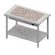 Ohrevný výdajný stôl s granitom na 2x GN1/1