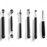 Set dekoračných nožov Hendi - 6 ks