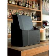 Box s jedálnymi lístkami TRENDY, čierna (20 ks)