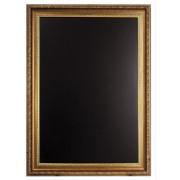 Nástenná popisovacia tabuľa GOLD - ozdobný rám 75x100cm
