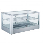Ohrevná vitrína LINOREX® MINI – hranata – 80 liter