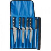 Sada nožov z kovanej ocele, 6 dielov