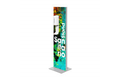 Dezinfekčný stojan SANITARIO s automatickým dávkovačom