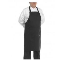 Kuchařská zástěra ke krku BIG BOY - černá - velikost od 5XL - 7XL