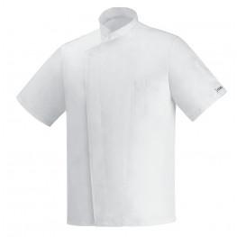 Kuchařský rondon Ottavio cool vent bílý - krátký rukáv