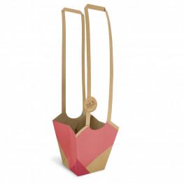 Darčeková taška na rastlinu Aqua Bio 11x11x19 cm