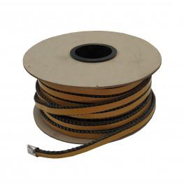 Tesniaca sklokeramická šnúra s páskou 8x4 mm