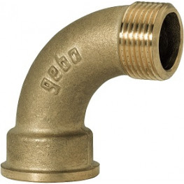 """GEBO Gold - Ms Oblúk 90° M/F 1.1/4"""", G1-07BR"""