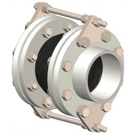 """HD - Vymedzovacia tyč pre prírubové kompenzátory, pozinkovaná uhlíková oceľ, DN 40 1.1/2"""", PN 16, M16x300mm (2 kusy v 1 páre)"""