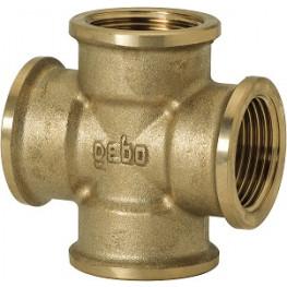 """GEBO Gold - Ms Kríž F/F/F/F 1.1/4"""", G180-07BR"""