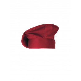 Kuchárska čiapka TOQUE MONET červená Giblor´s