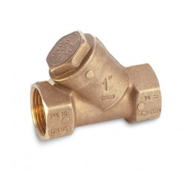 "Mosadzný Y filter, 0 až 95°, typ 1905 3/8"" 19050003"