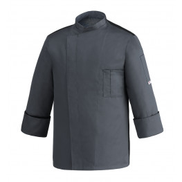Kuchařský rondon Ottavio cool vent šedý - dlouhý rukáv