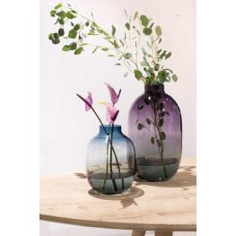 Blossom Aurora vase violett 25x42 cm (Vaza sklo)