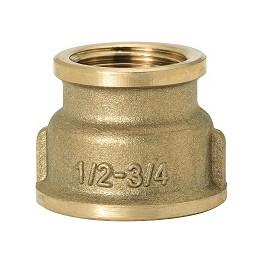 """GEBO Gold - Ms Nátrubok redukovaný F/F 3/4""""x1/2"""", G240-22BR"""