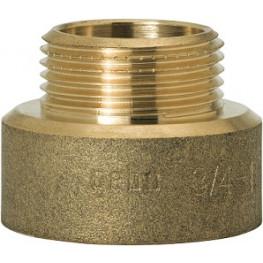 """GEBO Gold - Ms Prechod redukovaný M/F 3/4""""x1/2"""", G246H-74BR"""