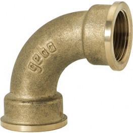 "GEBO Gold - Ms Oblúk 90° F/F 1.1/4"", G2-07BR"