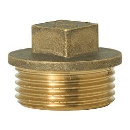 """GEBO Gold - Ms Zátka s obrubou M 1.1/2"""", G290A-08BR"""
