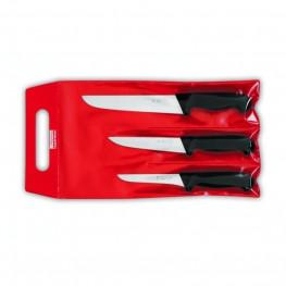 3- dielna sada nožov Giesser Messer v obale - mäsiarske