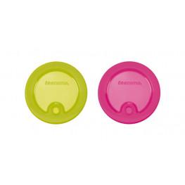 Tescoma viečka na poháre FAME, 2 ks, - farebný mix