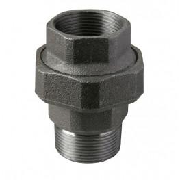"""HD Čierny fiting - Šróbenie/kónické M/F 341 1/4"""", 34101001"""