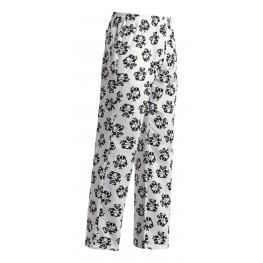 Kuchařské kalhoty PANDA, 100% bavlna