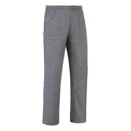 Kuchařské kalhoty Grey mix