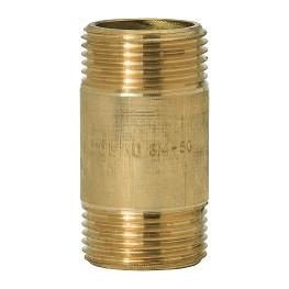 """GEBO Gold - Ms Predĺženie M/M 1.1/4""""x100mm, G70.100.07BR"""