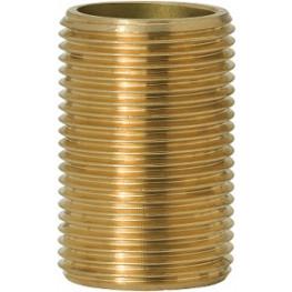 "GEBO Gold - Ms Vsuvka celozávitová 1.1/4""x40mm, G531-07BR"