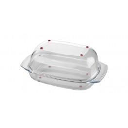 Tescoma pekáč s poklopom DELÍCIA GLASS 42 cm