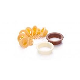 Tescoma vykrajovače tradičné na linecké cukrovinky DELÍCIA, 8 ks