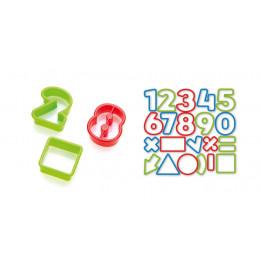 Tescoma vykrajovače číslice DELÍCIA KIDS, 21 ks