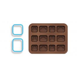 Tescoma formičky na čokoládu DELÍCIA KIDS, autíčka