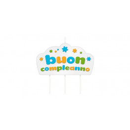 Tescoma tortová sviečka DELÍCIA KIDS, Buon compleanno