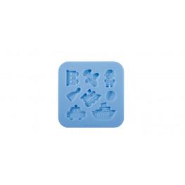 Tescoma silikónové formičky DELÍCIA DECO, pre chlapcov