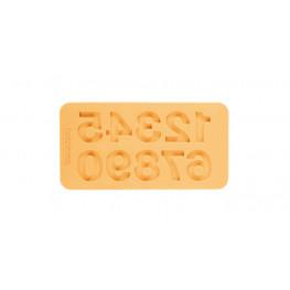 Tescoma silikónové formičky DELÍCIA DECO, čísla - farebný mix