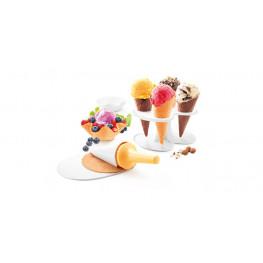 Tescoma súprava na zmrzlinové kornútiky a košíčky DELLA CASA