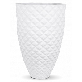 Capi Lux Heraldry Vase elegant I white 44x69 cm