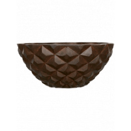 Capi Lux Heraldry Bowl II rust 44x20 cm