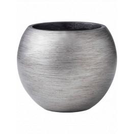 Capi Nature Retro Vase Ball Silver17x14 cm