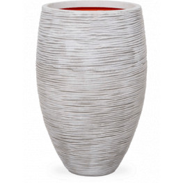 Capi Tutch Rib Vase elegant deluxe ivory 56x86 cm