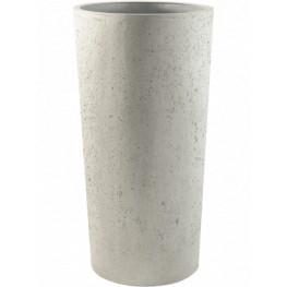 Grigio vase tall M Antique white concrete 36x68 cm