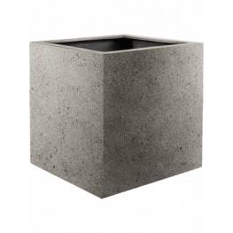 Kvetináč Grigio Cube sivý (natural - concrete) 60x60x60 cm