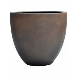 Grigio Egg Pot Rusty Iron-concrete 40x36 cm