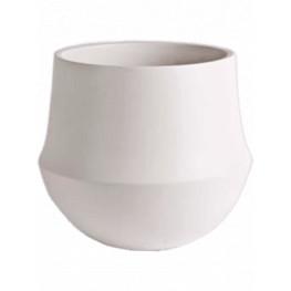 D&M Indoor pot Fusion White 17x15 cm